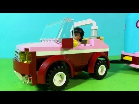 Vidéo LEGO Friends 3186 : La remorque à chevaux d'Emma