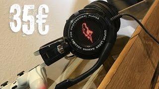 Gaming Headset für knapp 35€ Was kann das Ding? - EasySMX S3 Stereo  - Dr. UnboxKing - Deutsch