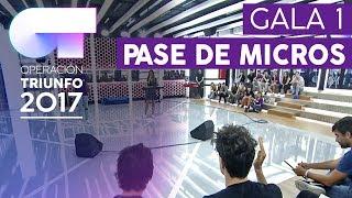 PRIMER PASE DE MICROS (26 DE OCTUBRE)  – OT 2017