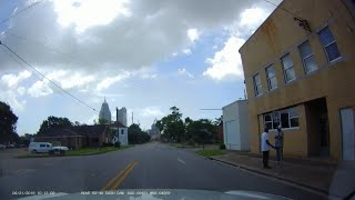 Driving In The Streets Of Mobile, Alabama