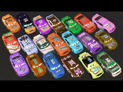 Carrinhos Corredores Disney Pixar Cars Racers From Speedway Of The South Brinquedos Em Portugues