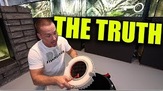THE TRUTH ABOUT AQUARIUM FILTERS - CANISTERS