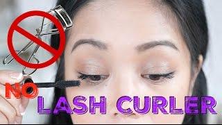 BYE BYE  LASH CURLER?! Benefit Roller Lash Curling and Lifting Mascara Review - itsjudytime