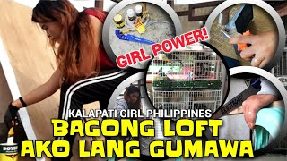 BAGONG LOFT DESIGN!!! AKO LANG GUMAWA: KALAPATI GIRL PHILIPPINES