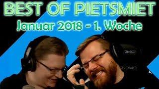 BEST OF PIETSMIET [FullHD|60fps] - Januar 2018 - 1. Woche
