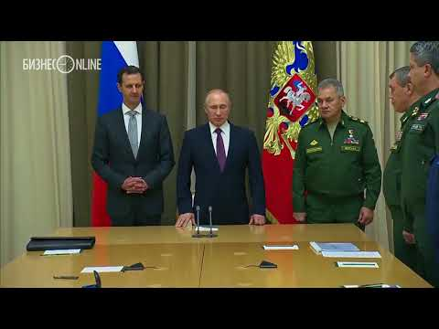 Путин на встрече с Асадом в Сочи заявил о скорой «неизбежной» победе над терроризмом в Сирии