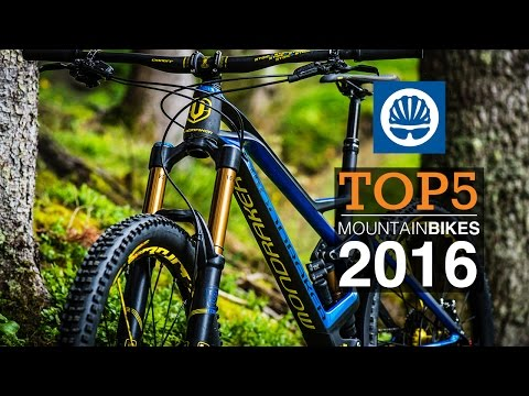 Top 5 – 2016 Mountain Bikes