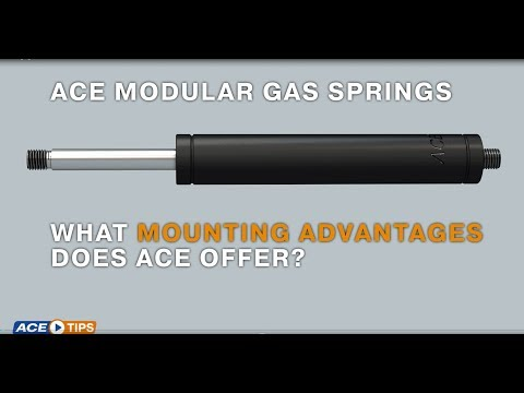 ACETips – ACE Modular Gas Springs: What Mounting Advantages does ACE offer?