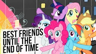 """Video thumbnail of """"Best Friends Until the End of Time - My Little Pony FiM - Synthesia Piano Cover"""""""