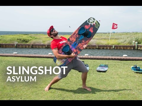 2016 Slingshot Asylum Kiteboard Review
