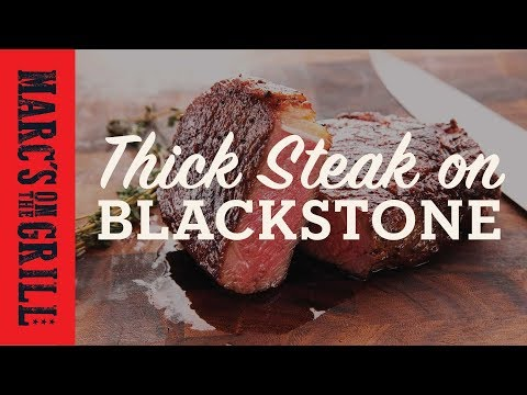 Thick Steak on Blackstone