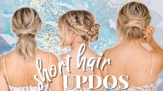 Updo Hairstyles For Short Hair - Kayley Melissa