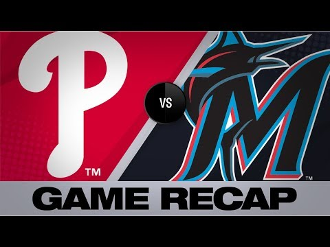Marlins score 6 in the 7th for comeback win | Phillies-Marlins Game Highlights 6/29/19