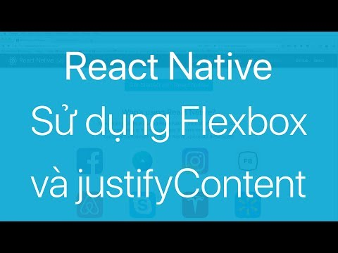08-Sử dụng Flex và thuộc tính justifyContent