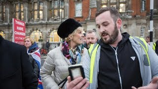 video: Yellow vest protester James Goddard who called Anna Soubry a Nazi on live TV admits harassment charge
