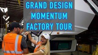 Grand Design RV Factory Tour (Momentum Line) | Changing Lanes!