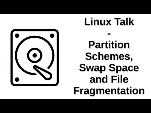 Linux Talk | Partition Schemes, Swap Space and File Fragmentation