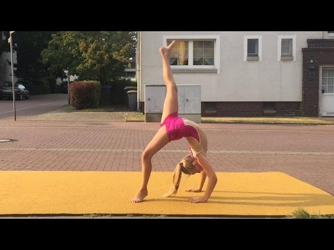 Tanzen und turnen dance gymnastic flick flack Spagat Split turnen by Haley 💗 Haley's Turnwelt