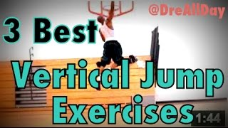 Exercises to Increase Vertical Jump - Dunk at Any Height | Air Alert Drills | Dre Baldwin