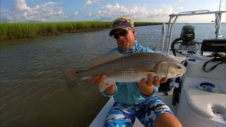 preview picture of video 'Low Country Reds - REDFISH in Charleston, South Carolina'
