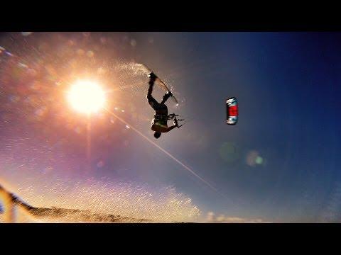 גלשני הרוח בארובה - סרטון ספורט עוצר נשימה!