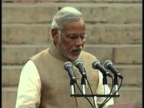 Narendra Modi takes oath as 15th Prime Minister of India