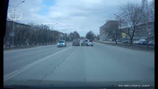 18.04.2018 Ачинск. Момент аварии на улице Свердлова.