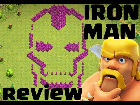 Clash Of Clans: TH9 | TH10 | Fun Base Layout - Iron Man