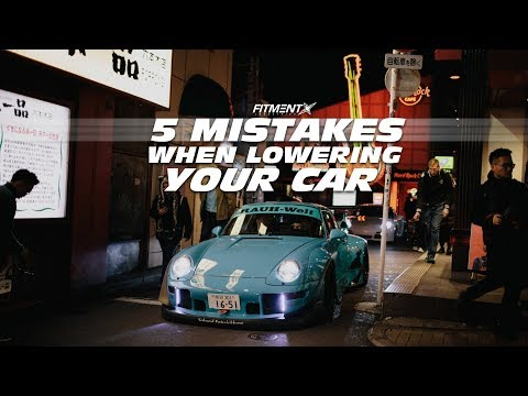 5 MISTAKES When Lowering Your Car
