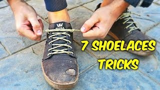 7 Shoelaces Tricks Compilation
