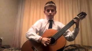 """Моя игра на гитаре """"Пэкингтонс паунд"""""""