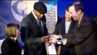 Video Name Tag is a Huge HIT for CBS Upfront Party in New York