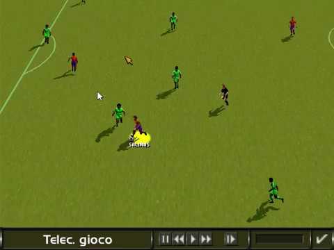Baquero (Spagna) gran gol tuffo di testa su rimessa di Salinas da sx...!