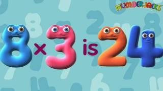 3 Times Table Song - Numberjacks