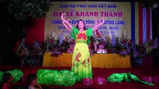 Múa Lạy Phật Quan âm, Chùa Lôi Tử  Lưu Xá  Phú Túc Ngày 05082017
