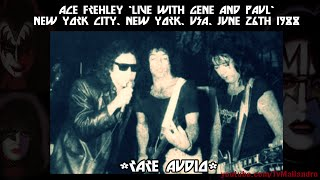 Ace Frehley live with Gene & Paul, New York 1988 (RARE - AUDIO ONLY)