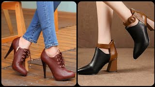 Leather Ankle Boots Designs | Almost 75 Expertly Picked Designs For Your Fashion