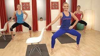 Day 10 Video 1: The Look Good Naked Barre Workout   Class FitSugar by POPSUGAR Fitness