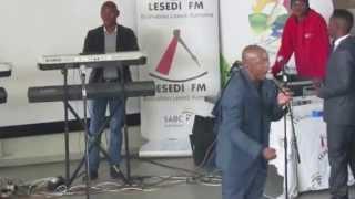 Teboho Moloi singing 'Motho Mang Le Mang' in Sharpeville