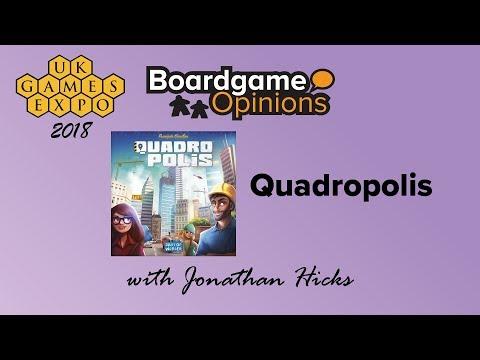 Boardgame Opinions: Quadropolis