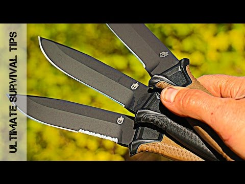 GERBER StrongArm – Review – Best Tactical / Combat Survival Knife?