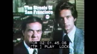 ABC The Streets Of San Francisco Promo Slide 11/25/1972