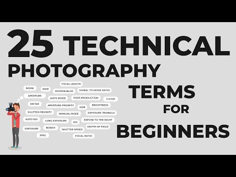 25 Technical Photography Terms Every Beginner Must Know Mp3