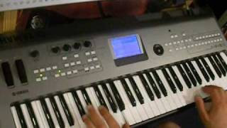 Axel F Popcorn Played On Keyboard