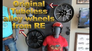 TUBELESS ALLOY WHEELS FROM ROYAL ENFIELD FOR ALL CLASSIC BIKES WITH 2 YEARS WARRANTY
