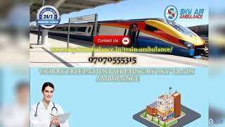 Use the latest CCU Based Rail Ambulance Service in Jamshedpur