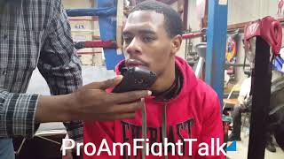 LAMONT ROACH, JR. Ready To Defend WBC YOUTH SUPER FEATHERWEIGHT TITLE AGAINST Rey Perez!