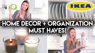 10 IKEA HOUSEHOLD MUST HAVES   DECOR + ORGANIZATION