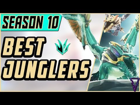 The Best Junglers For All Ranks! | Season 10 | Tier List League of Legends