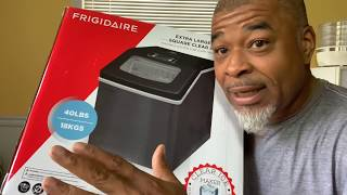 Fridgidaire 40lb countertop ice machine